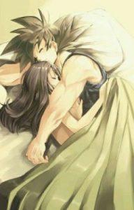 imagenes de goku y milk haciendo el amor