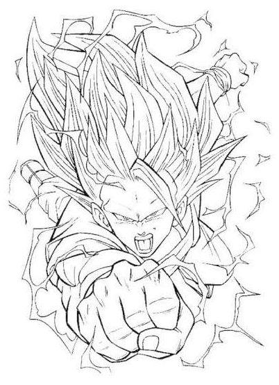 Dibujos De Dragon Ball Para Pintar E Imprimir