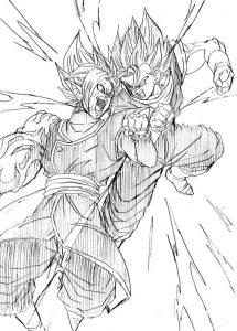 Goku Black Para Dibujar