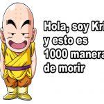 Goku con frases chistosas
