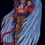 Goku fase 4 con alas
