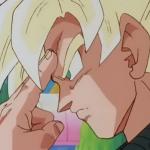 Goku haciendo la Teletransportación
