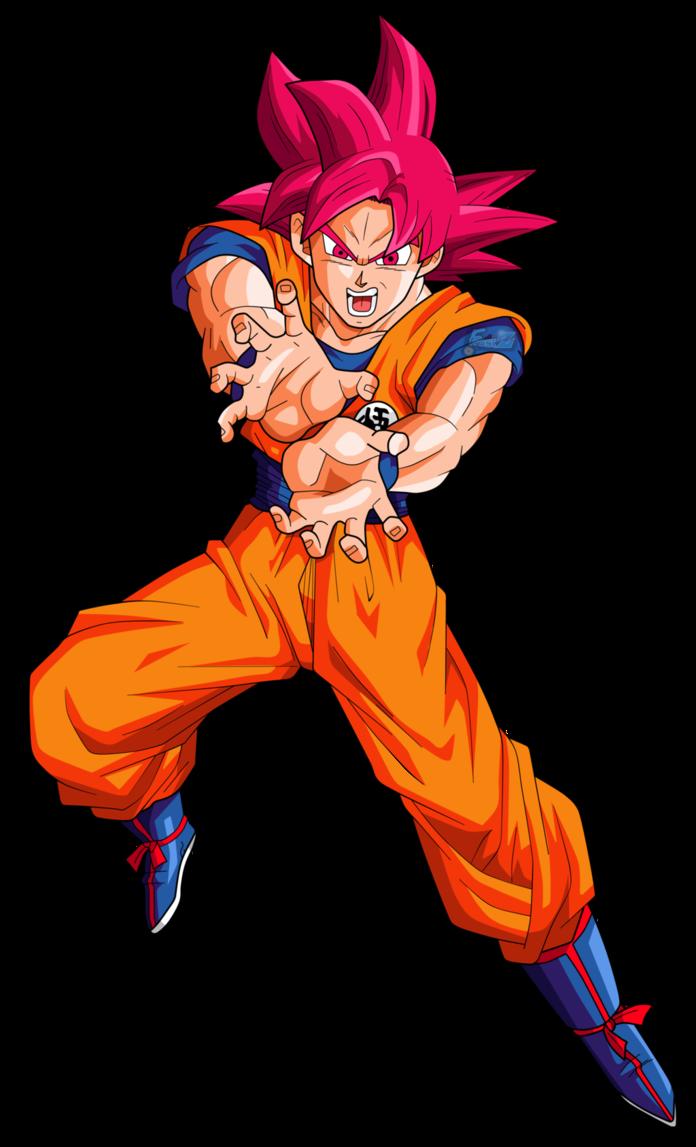 Goku y vegeta fase dios - Sangoku super saiyan god ...