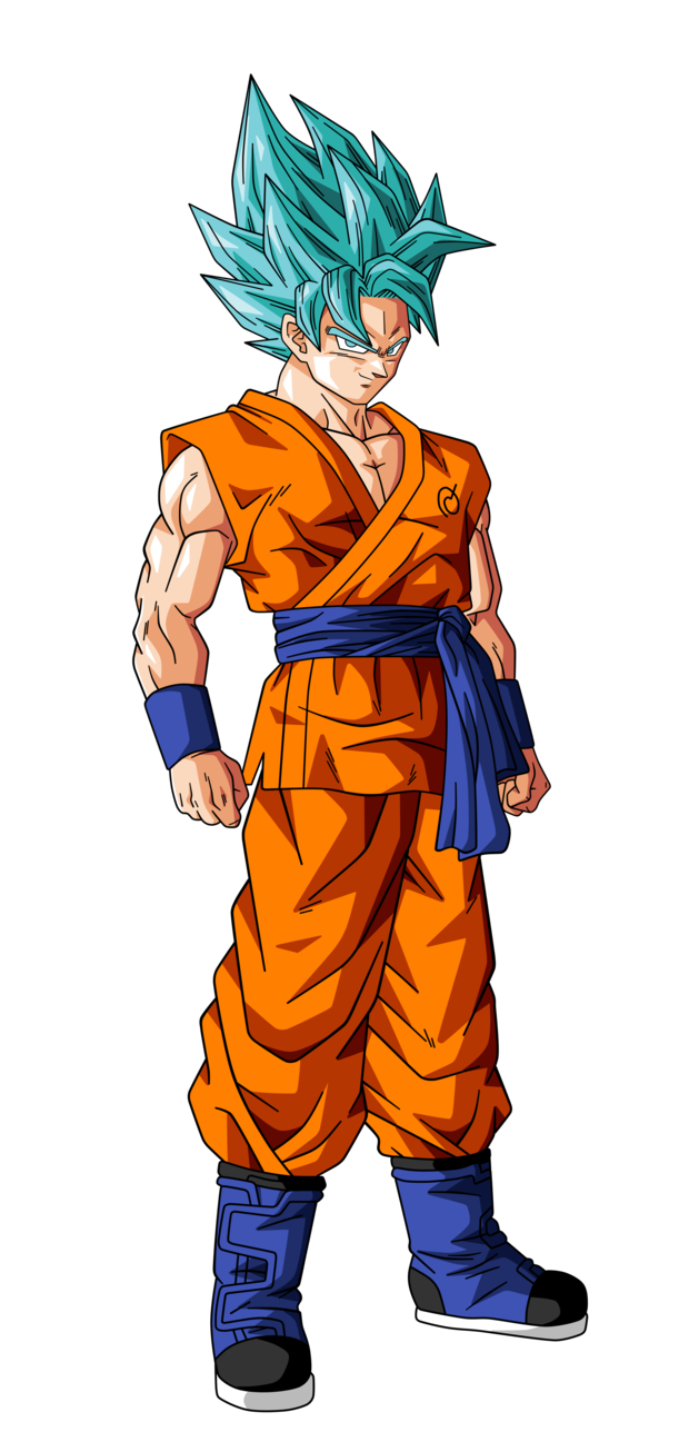 Goku y vegeta fase dios - San goku super saiyan 5 ...
