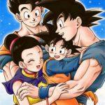Goku y su familia