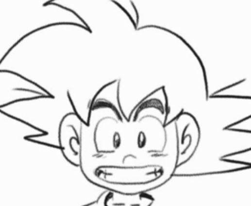 Dibujos Mas Fasiles Para Dibujar: Goku Faciles De Dibujar