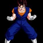 Goku y Vegeta fusionados