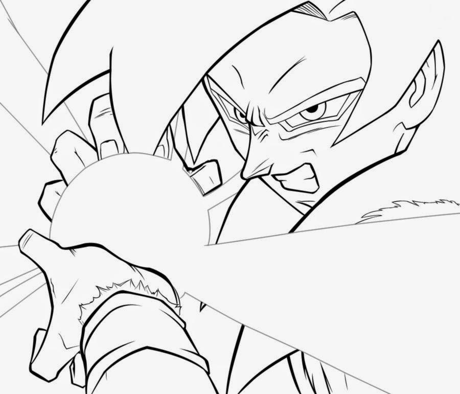 Dibujos De Goku Para Colorear 13