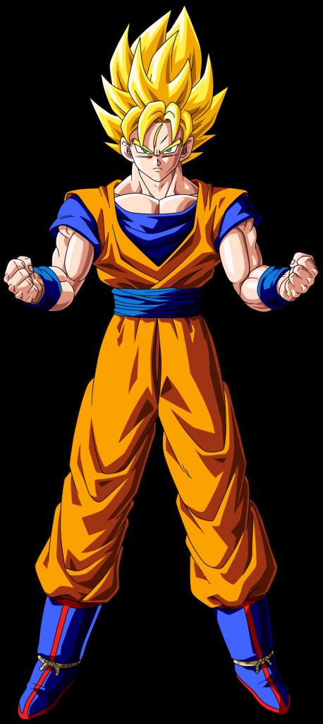 Goku fase 1 2 3 4 - San goku super saiyan 5 ...