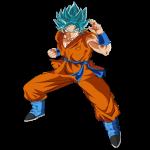 Goku dios azul