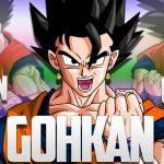 Goku y gohan fusionados