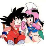 Goku con Milk