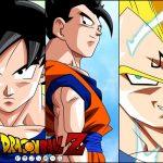 Goku vegeta y gohan
