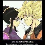 Goku de amor