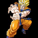 Goku en super sayayin