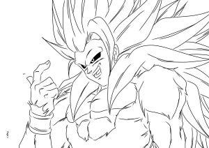 Imagenes Para Colorear Goku Fase Dios Imagenes Para Colorear De