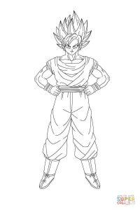 Goku Dios Para Dibujar