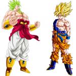 Goku y Broly