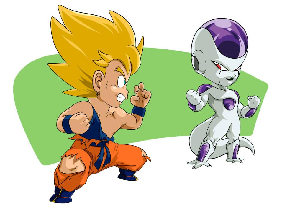 imagenes de goku Goku y Freezer