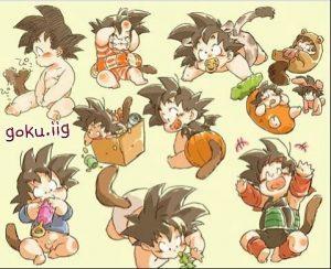 imagenes de goku bebe