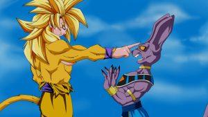 Goku Ssj Dios Dorado