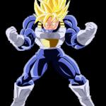 Goku musculoso