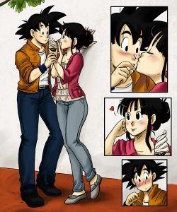 imagenes de Goku románticas