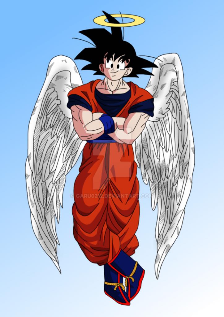 imagenes de goku angel