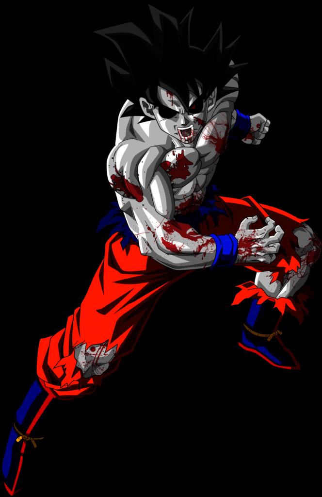 imagenes de Goku Zombie