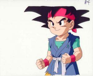 imagenes de Goku Jr