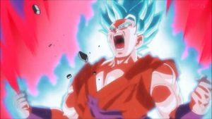 imagenes de Goku transformandose