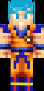 imagenes Goku Minecraft