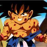Goku herido