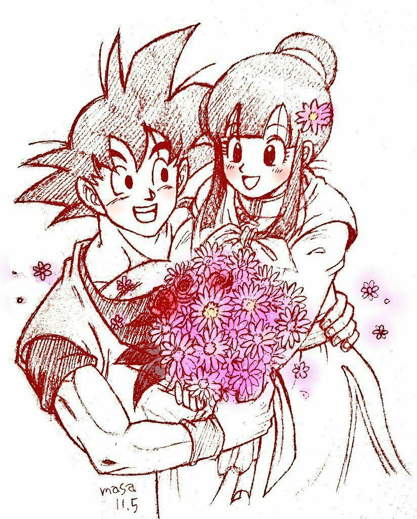 Goku enamorado