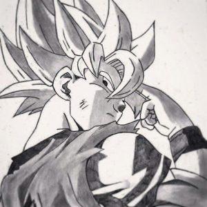 Goku A Lapiz