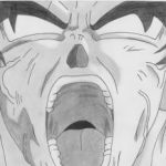 Goku a lápiz
