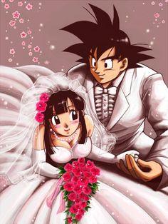La boda de Goku y Milk